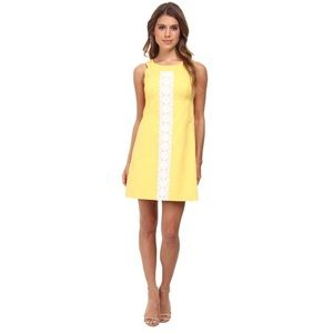 Lilly Pulitzer Yellow Jacqueline Shift Dress